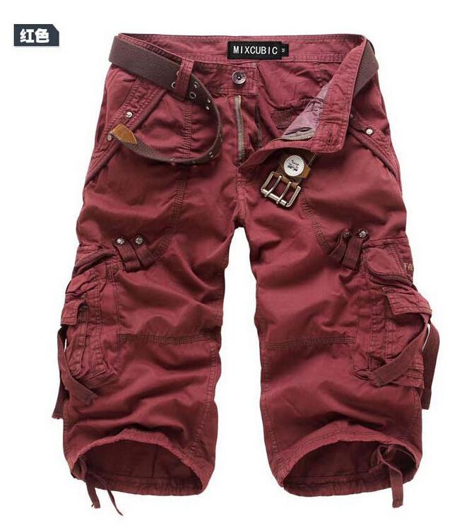 Для мужчин брюки-карго Шорты для женщин бермуды masculina De Marca Для мужчин Повседневное брюки-карго Шорты для женщин Военная Униформа камуфляж хлопок короткий
