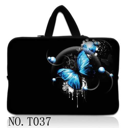 13 Blue Butterfly Laptop Carry Sleeve Bag Case For 13.3 Apple Macbook Pro/Air Cover