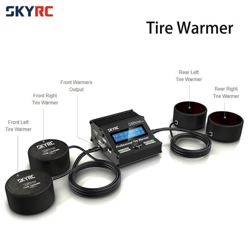 원래 skyrc 전문 타이어 온열 장치 전자 mcu rstw 온도 제어 1/10 rc 레이싱 투어링 드리프트 카-에서부품 & 액세서리부터 완구 & 취미 의  그룹 1