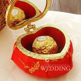 Новое поступление 20 шт./лот любовь latern форме в китайском стиле свадебные коробки THJ07-red