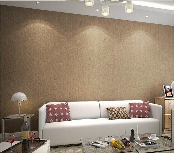 Parede da sala na cor camurca cole o de for Papel para paredes salon