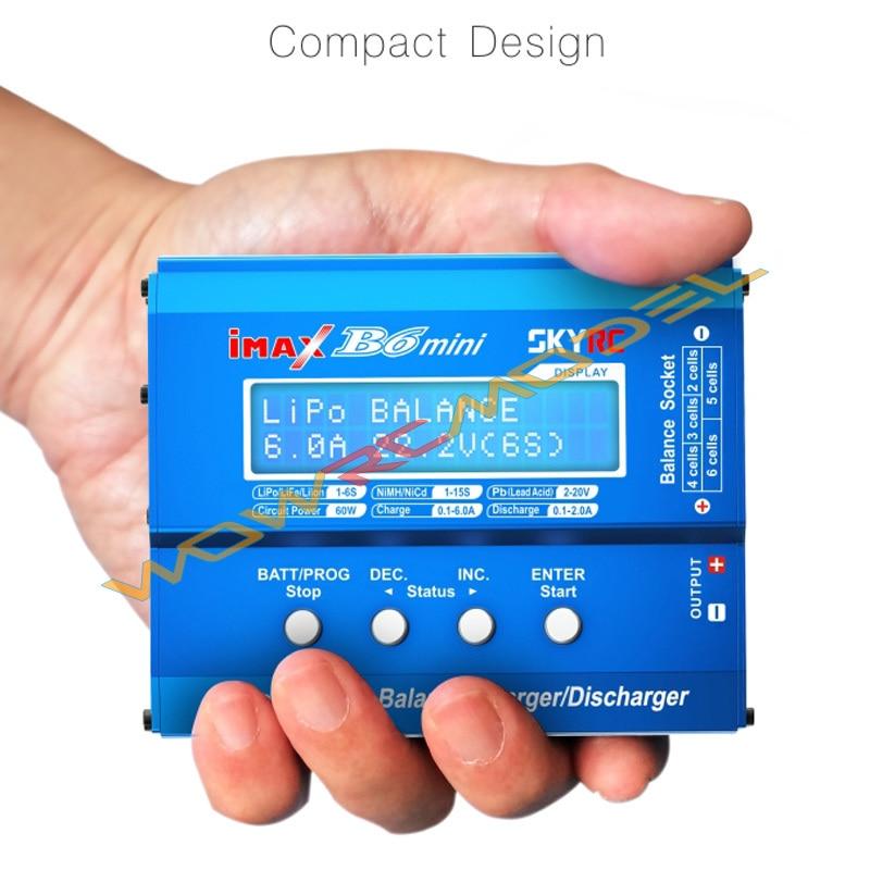 B6mini 100 Genuine SKYRC iMAX B6 Mini Professional Balance Charger Discharger SK 100084 01 with Anti