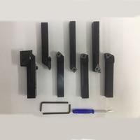 Turning tool holder 16mm 7pcs lathe turning tool for lathe