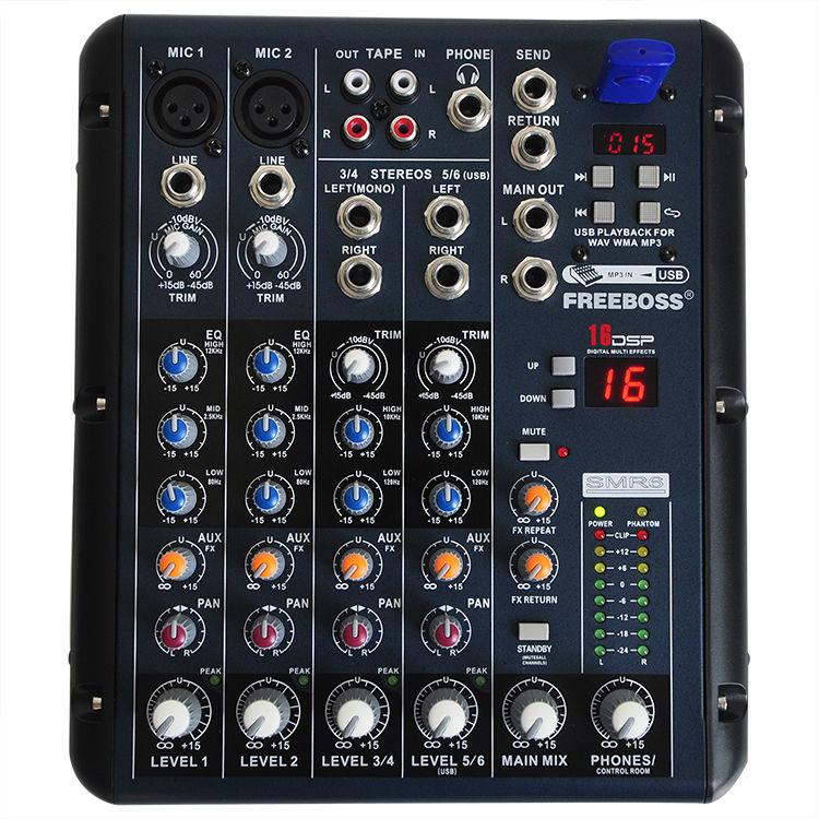 SMR6 11 Audio Mixer