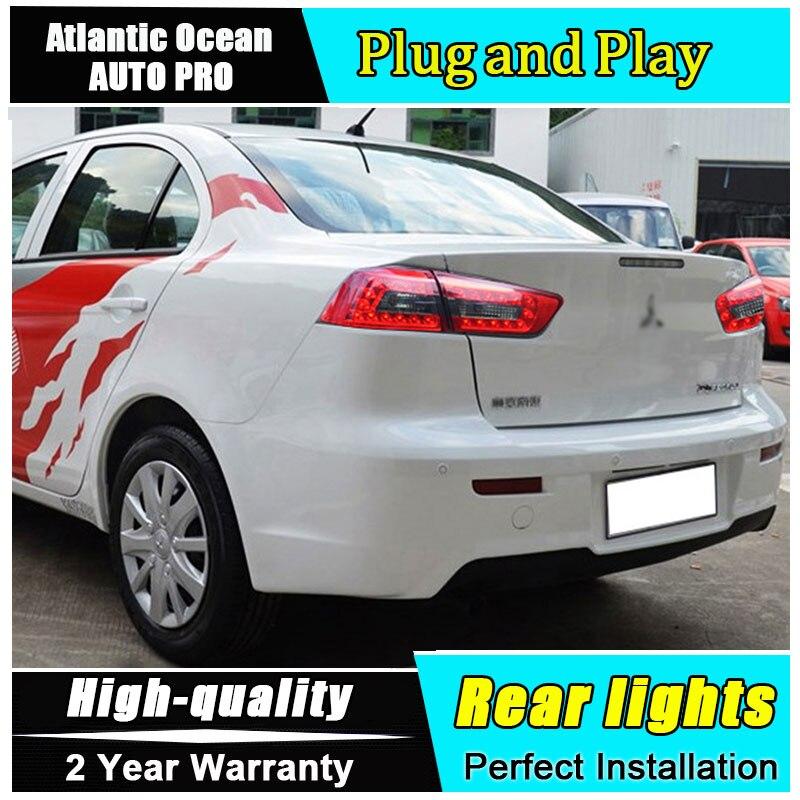 Автомобиль JGRT стайлинг для Мицубиси Лансер задние фонари 2009-2014 для Lancer экс светодиодный задний фонарь задний фонарь задний свет 1 пара ,4шт