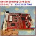 DBSTAR Sending Card DBS-HVT11,xmplayer,high refresh, high gray grade, sync controller, support 1280*1024 pixel,dual rj45 export