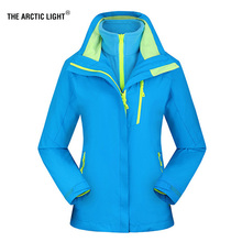 THE ARCTIC LIGHT New Women ski Jackets Outdoor Hiking Trekking Warm Snowboard Coat Waterproof Snow Jacket Sportswear Winter XXXL