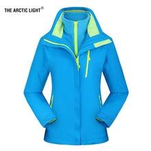 THE ARCTIC LIGHT New Women ski Jackets Outdoor Hiking Trekking Warm Snowboard Coat Waterproof Snow Jacket Sportswear Winter XXXL