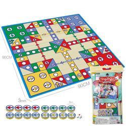 1 conjunto voando xadrez playmat entretenimento avião xadrez tapete de viagem jogo de tabuleiro pai-criança jogo de festa para crianças