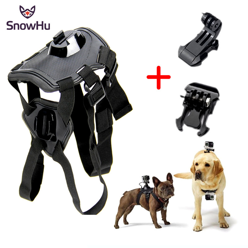 SnowHu for GoPro Accessories Adjustable Dog Fetch Harness Chest Strap Belt Mount For GoPro Hero 5