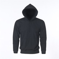 Rocksir Brand New Men S Solid Hoodies Sweatshirt Coat For Men Male Sweatshirt Pullover Black Hoodie