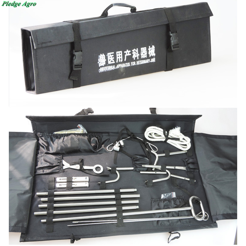 Cattle Obstetrical Instrument Kit Apparatus Veterinary Cow Farming Delivery Medical Equipment Dystocia Midwifery Hook My Orders