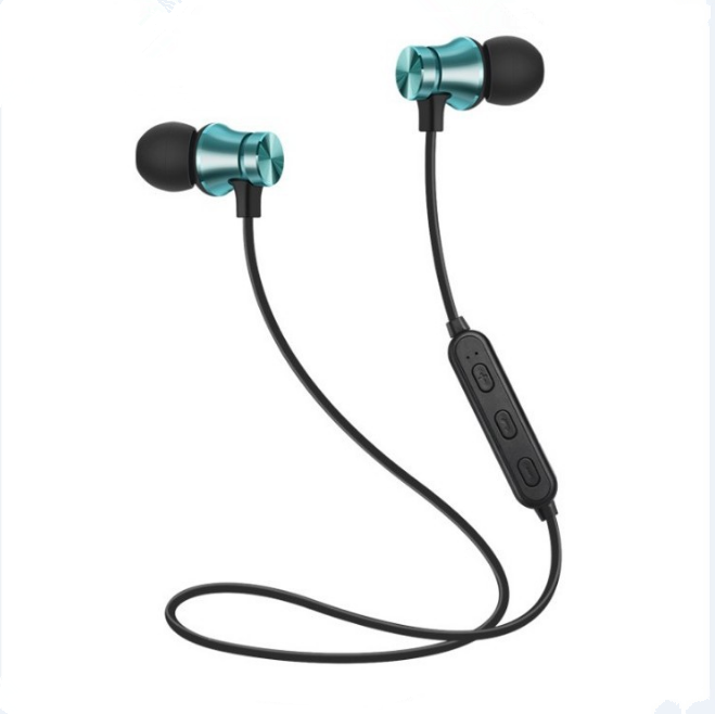 Wireless Bluetooth Earphone Sport Headset untuk Xiaomi untuk iPhone 8 X Stereo Earbud Earphone Fone De Ouvido dengan MIC