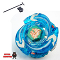 1pcs Beyblade Metal Fusion 4D set   Ultimate Meteo L-Drago Rush blue Dragon BB-98 kids toy   Christmas gift with launcher