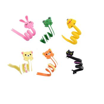 Long Strips of Wire Fashion Strip Animal Bobbin Winder Ear Mechanism Storage Cable Winder Accessories creative cable holder
