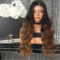 High 7A Grade Two Tone Ombre Human Hair Wig Full Lace Human Hair Wigs For Black Women Ombre Lace Front Human Hair Wigs
