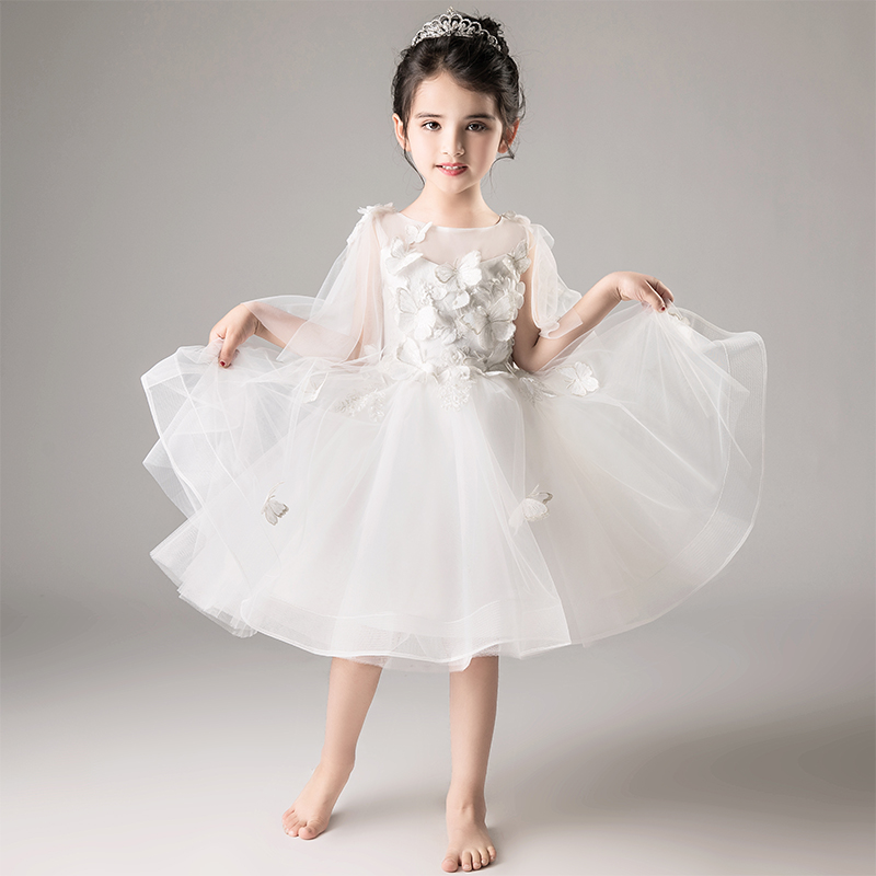 Aliexpress White Fairy S Dresses Flower 2018 4 12 Years Old Ball Gown From Reliable Suppliers On Torkerna Official