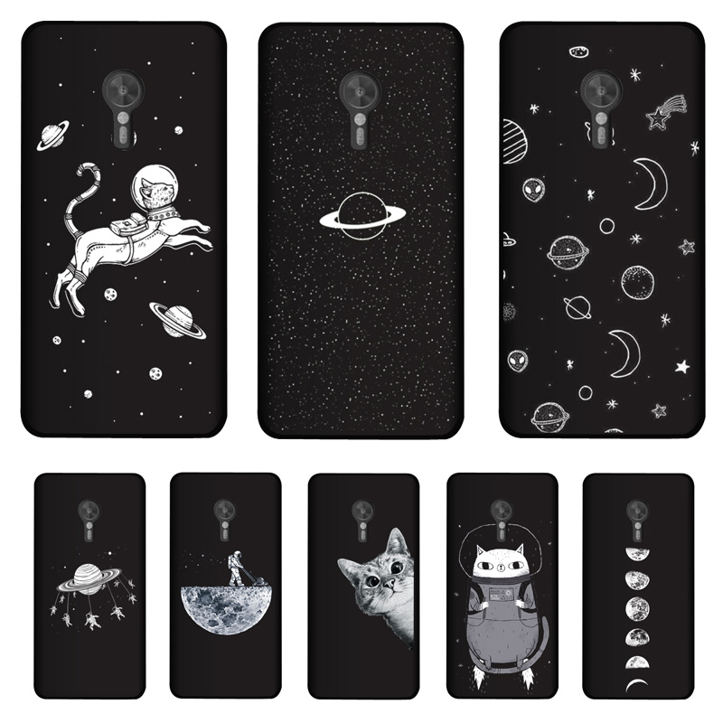 "PENSEN Soft TPU 5.2"" For Lenovo ZUK Z2 Pro Case Cover Matte Painting Case Phone Cat Coque"