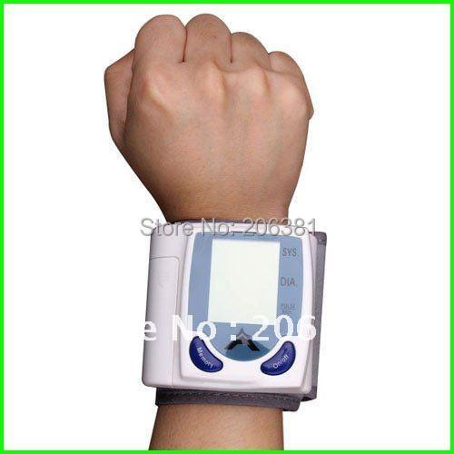 Digital Wrist Blood Pressure Monitor & Heart Beat Meter