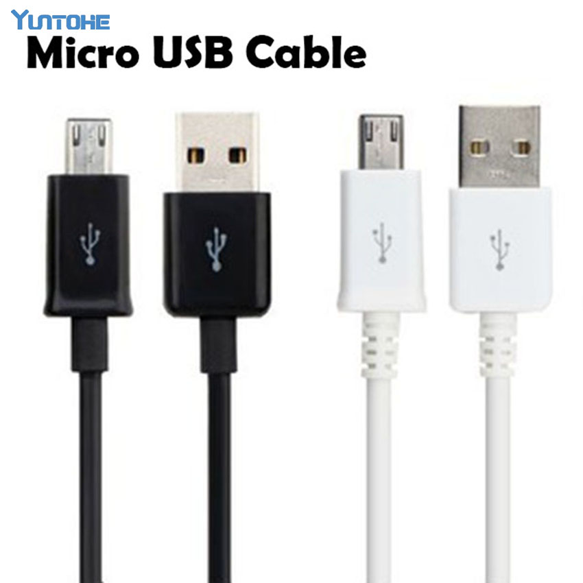 Cheapest 100Pcs a lot Micro USB Cable Charging Cable USB2 0 Data sync Charge Cable for