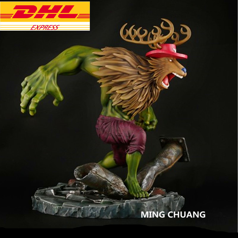 Avengers Infinity War Superhero Statue Hulk Tony Tony Chopper Bust GK Action Figure Collectible Model Toy BOX D624