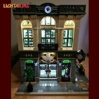 LIGHTAILING Led Light Up Kit For Creator Brick Bank Building Block Model Light Set Compatible With