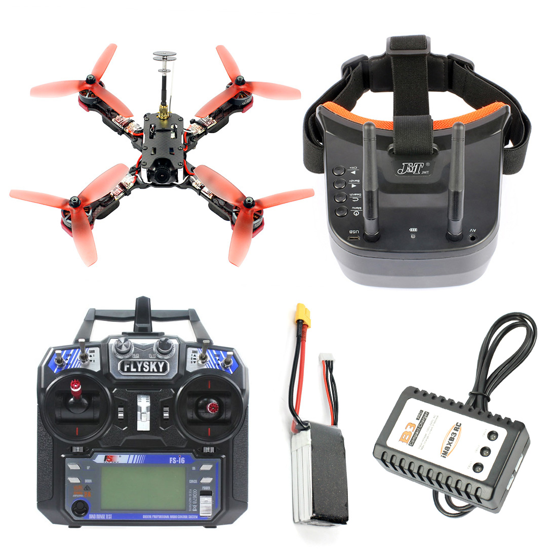 Frog 218mm 2 4G 6CH RC Racer Drone RTF Betaflight F4 Pro V2 BLHeli s 30A