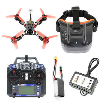 Frog 218mm 2.4G 6CH RC Racer Drone RTF Betaflight F4 Pro V2 BLHeli-s 30A 5.8G 25/200/400mW VTX Mini 700TVL Camera FPV Quadcopter - DISCOUNT ITEM  9% OFF All Category