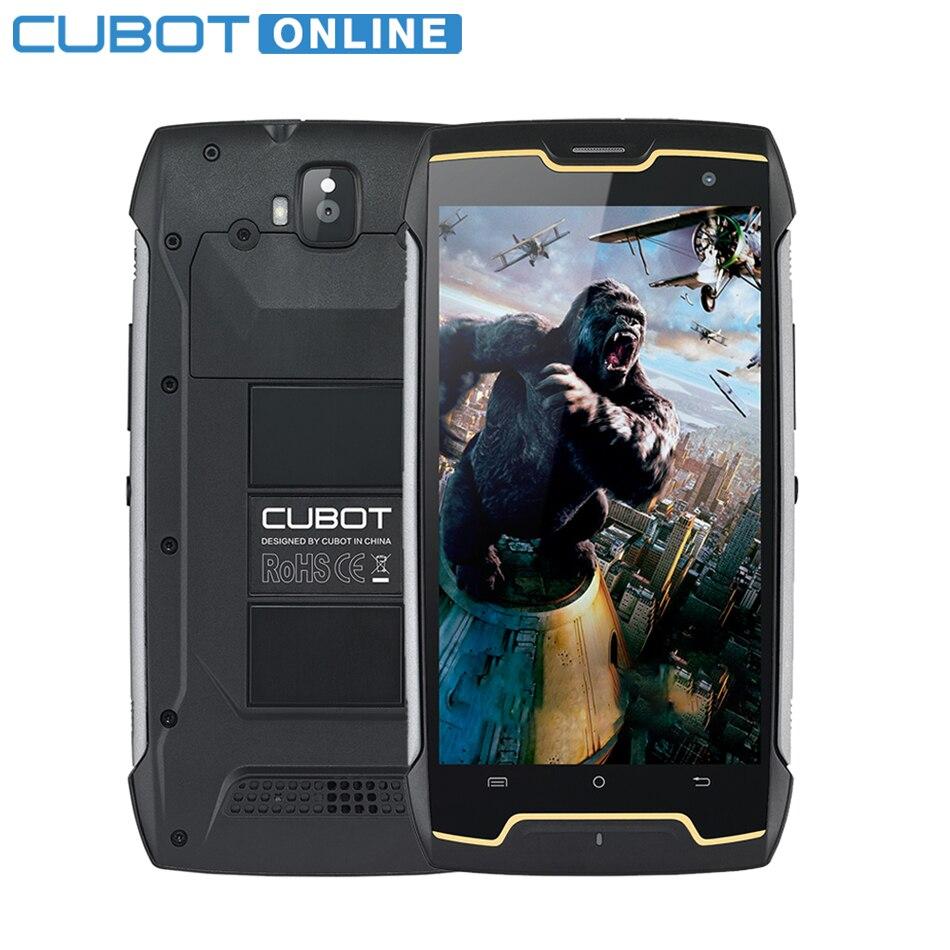 Cubot KingKong IP68 2 ГБ Оперативная память 16 ГБ Встроенная память MT6580 4 ядра мобильный телефон 5,0 дюймов HD 4400 мАч Водонепроницаемый пыле смартфон