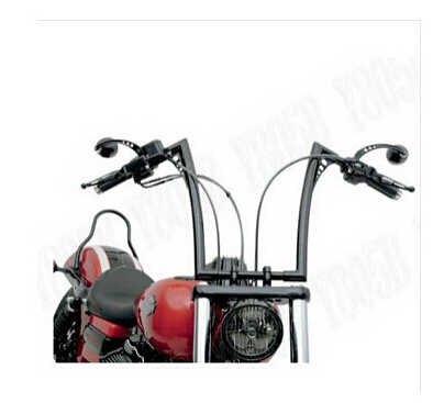 Motorcycle Chrome Drag Handlebars 1