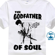085dcc14d James Brown Padrinho Do Soul Camiseta Funk R   B-Todos 3D Imprimir Camiseta  100