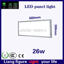 Hot selling LED AC 26W 300*600mm flat Panel Lamp Light LED kitchen light ceiling lampada painel de Luz Ljus for indoor