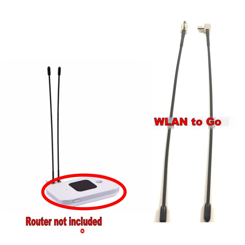 4G TS9 Indoor antenna Wifi Booster 2pcs exteral antenne For Huawei E5573 E8372 E5577 E8372 E5372