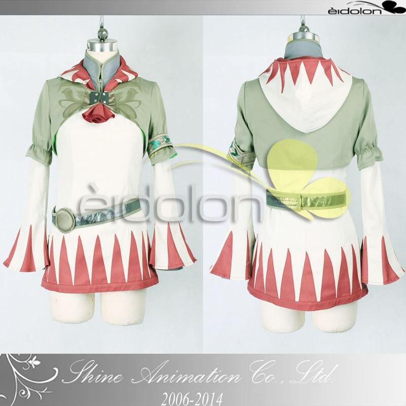 Final Fantasy XIII Sarah Uniforms Cosplay Costume Custom Made Free Shipping