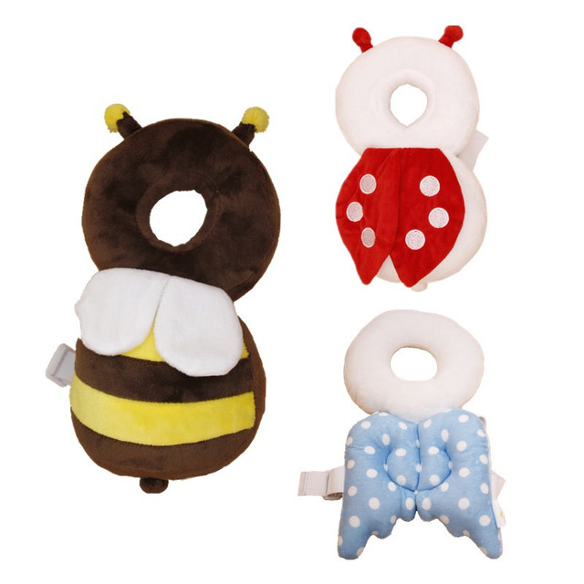 Cute Baby Head Restraints Toddler Protection Pad Fall Headrest