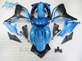 Custom Injection Fairing set for Suzuki GSXR 600 06 07 K6 750 sports fairings kit GSXR750 2006 2007 GSXR600 blue black body kits