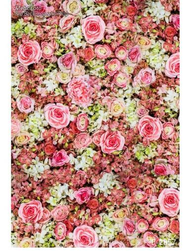 us 15 9 newborn floral vinyl cloth pink flower wallpaper photography backdrops fo wedding baby kids photo studio portrait backgrounds in background