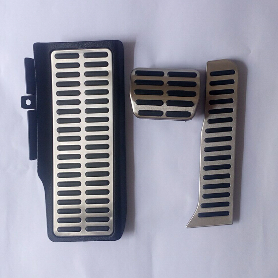 Stainless Steel car pedal For Volkswagen vw Golf 5 6 MK5 MK6 Skoda Octavia Jetta MK5 MK6 Scirocco CC Passat B6 B7 TIGUAN Toureg
