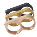 Gold/Two Finger Vintage Rings Cool Punk Party Big Statement Ring,Stainless steel fashion ring Jewelry for Men,Men's finger ring