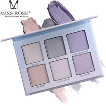 MISS ROSE six-color highlighter highlights whitening concealer cheeks enhanced silhouette makeup