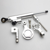 New CNC Steering Damper Full Set With Bracket For Yamaha YZF R6 2006 2011 07 08