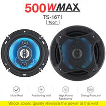 2 Pieces 6 Inch 500W 2 Way Car Coaxial Auto Audio Music Ster