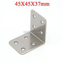 NEW 40PCS 304 Stainless Steel Furniture Corner Braces 90 Degree L Shape Frame Board Support Holder Brackets Connecting Fittings