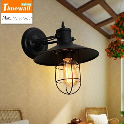 The Cheapest Price Loft Waterproof Outdoor Lamp Industrial Retro Yang Taipei European Style Bedroom Bedside Lamp Bar Aisle Lights & Lighting