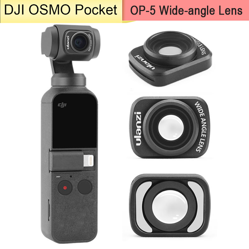 DJI Osmo Pocket Wide Angle Lens Professional HD Magnetic Structure Lenses For DJI Osmo Pocket Camera With Housing Case