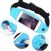 Gym Waterproof Waist Clip Mobile Phone Case Touch Screen Bags For BlackBerry DTEK60 Asus Zenfone 2