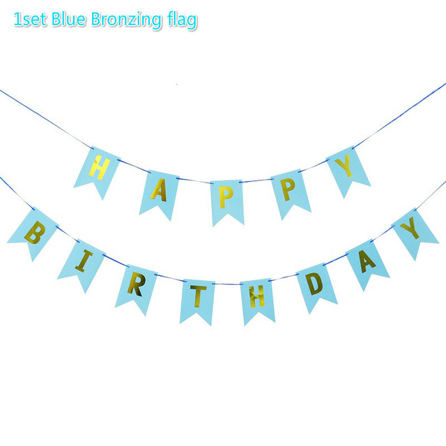 Blue Bronzing flag Presents for one year old boy 5c64f7ebeed00
