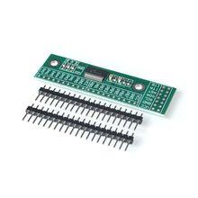 Placa de módulo de Pin de extensión IIC a GIPO, 10 unidades/lote, interfaz MCP23017 I2C, 16 bits, fuente de alimentación para Arduino