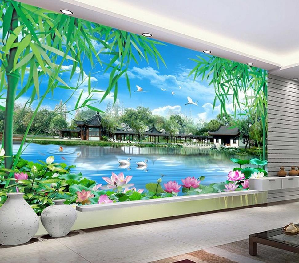 Menyesuaikan Wallpaper Papel, De Parede HD Pemandangan