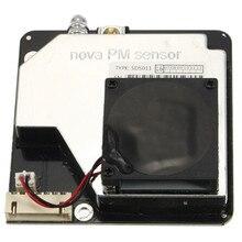 노바 pm 센서 sds011 고정밀 레이저 pm2.5 대기 질 감지 센서 모듈 슈퍼 먼지 먼지 센서, 디지털 출력